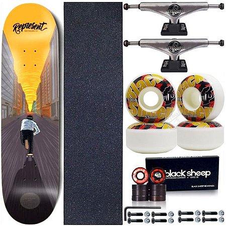 Skate Completo Shape Maple Represent Skate Street 8.0 + Truck ThisWhay