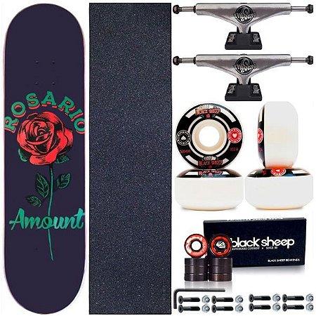 Skate Completo Shape Amount Maple Danilo do Rosário 8.0 + Truck ThisWhay