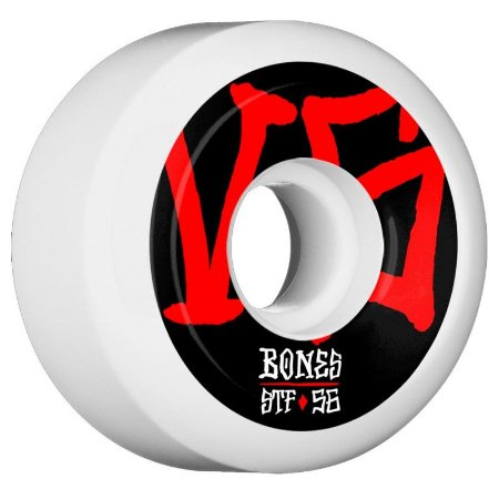Roda Bones STF Annuals  SIDECUT 56MM 83B. ( jogo 4 rodas )