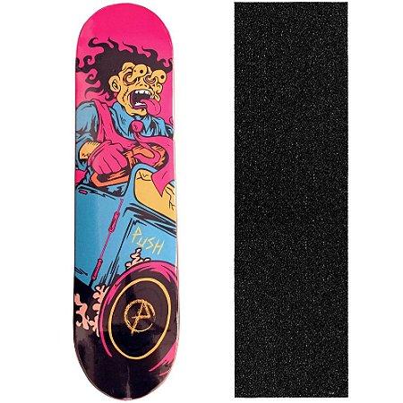 Shape Push Skateboard 8.0 Crazy (Grátis Lixa)