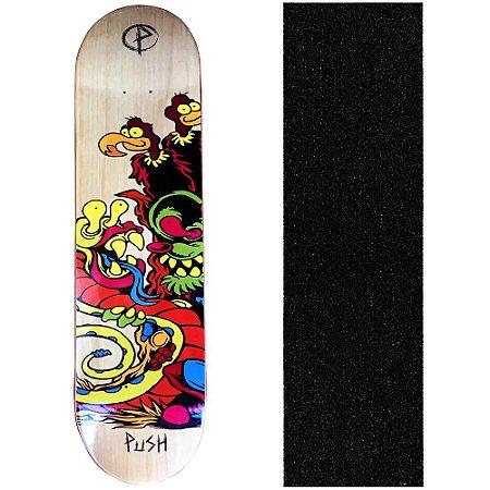Shape Push Skateboard 8.0 Vulture (Grátis Lixa)