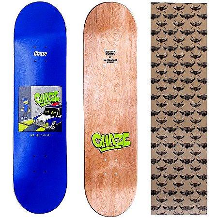 Shape Maple Chaze Skate Importado 8.0 (Grátis Lixa Jessup Importada)