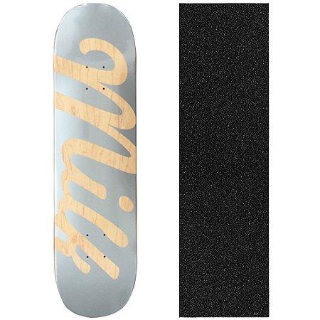 Shape Maple Milk Skate Importado 8.0 Prata (Grátis Lixa Importada)