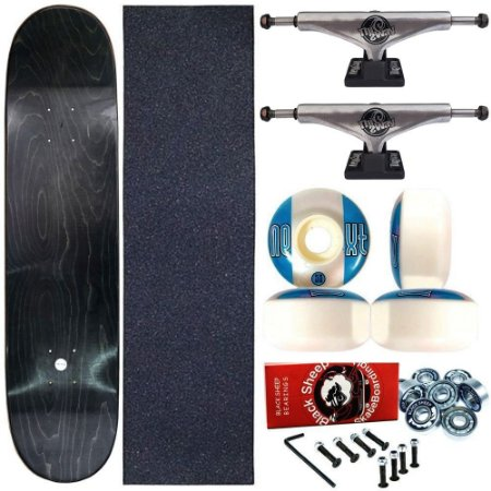 Skate Completo Profissional Maple Liso 8.0 + Truck This Way 139mm