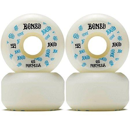 Roda Bones Formula White 53mm 100s Original