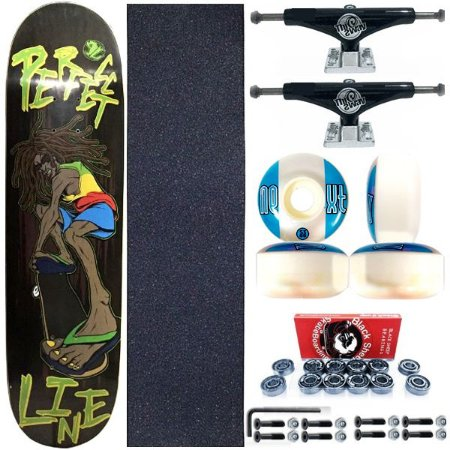 Skate Completo Shape Perfect Line 8.0 Reggae + Truck This Way