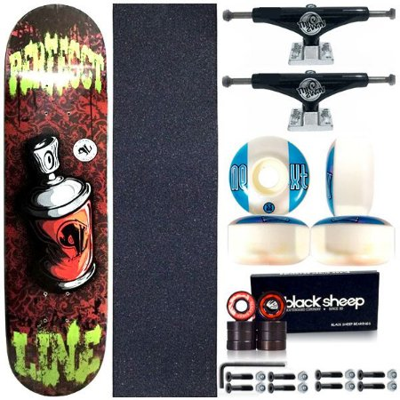 Skate Completo Shape Perfect Line 8.0 Spray + Truck This Way