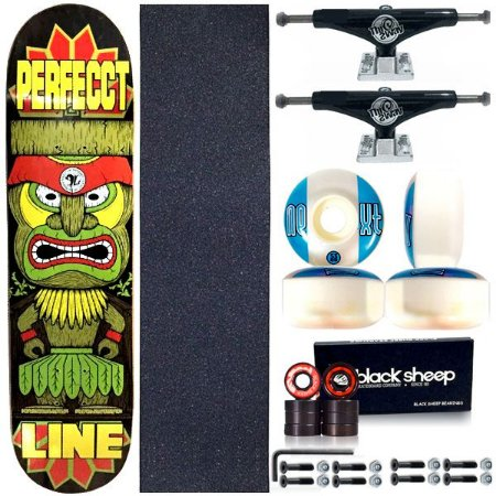Skate Completo Shape Perfect Line 8.0 Tribo + Truck This Way