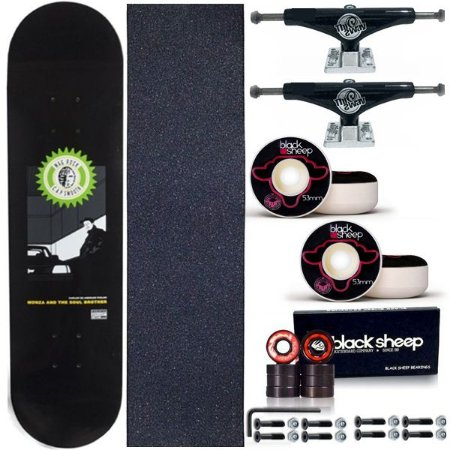 Skate Completo Maple Kronik Piolho 8.0 + Truck This Way 139mm + Roda BS 53mm