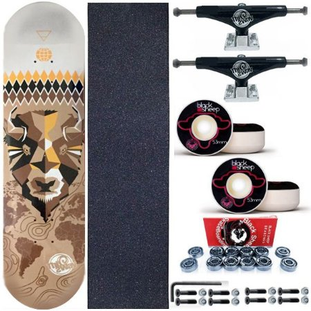Skate Profissional This Way Bulls 8.0 + Truck 139mm This Way