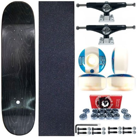 Skate Completo Profissional Maple Liso 8.0 + Truck Black ThisWay 139mm