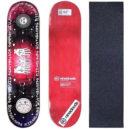 Shape Profissional Maple Skate Nineclouds 8.0 Mystic (Grátis Lixa Importada)