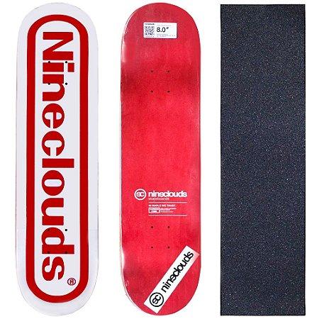 Shape Profissional Maple Skate Nineclouds 8.0 Game (Grátis Lixa Importada)