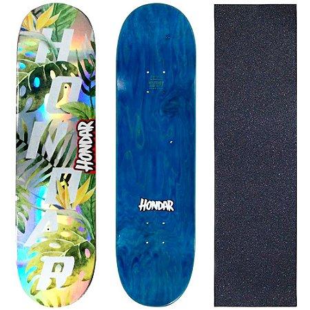 Shape Maple Skate Profissional Hondar Foil 8.25 Nature ( Grátis Lixa Importada )
