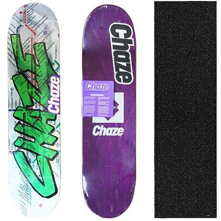 Shape Maple Chaze Skate Importado Transit 8.125 (Grátis Lixa Importada)