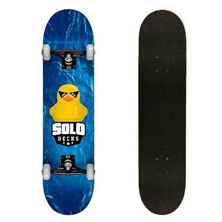Skate Montado Solo Decks Semi Profissional Duck
