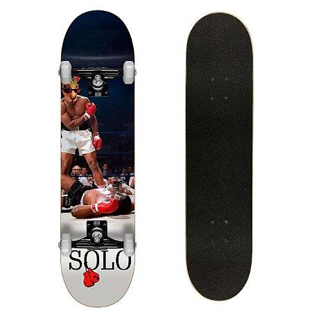 Skate Montado Solo Deck Semi Profissional Nocaute