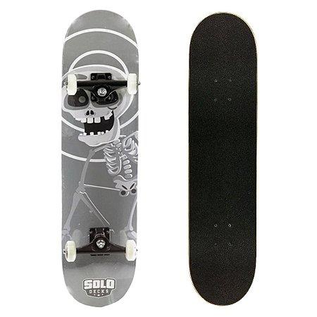 Skate Montado Solo Decks Semi Profissional Monster