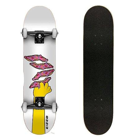 Skate Montado Cisco Skate Semi Profissional Donuts