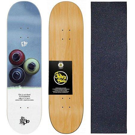 Shape de Skate Profissional Wood Light 8.0 Collab Iso - Graff + Lixa de Brinde