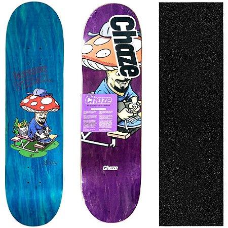 Shape Maple Chaze Skate Importado Melow Patrick Vidal 8.0 (Grátis Lixa Importada)