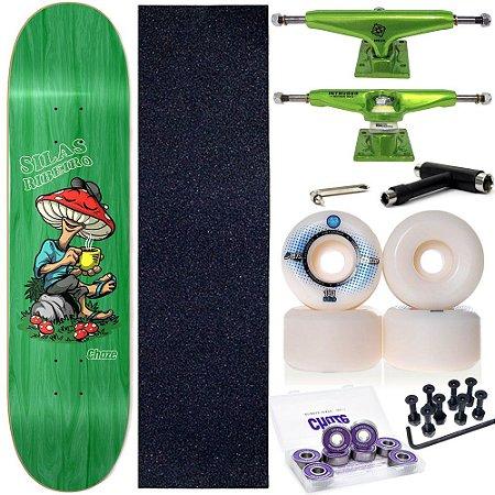 Skate Completo Maple Chaze Skate Melow Silas Ribeiro 8.0 + Truck Intruder
