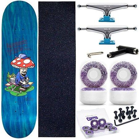 Skate Completo Maple Chaze Melow Patrick Vidal + Roda Chaze + Truck Intruder