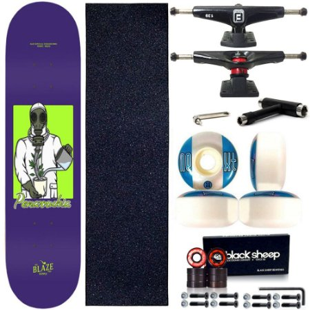 Skate Completo Shape Maple Blaze Supply Pro Mask 8.0 + Chave T