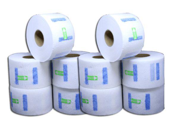 Gola Higiênica Protetor Descartável -2 pacotes c/ 5 Rolos cada - 10 rolos