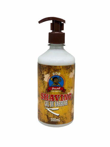 Shaving Gel de Barbear - 500mL