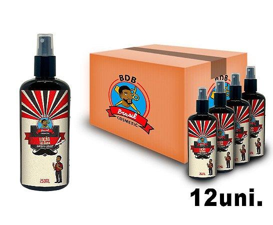 CAIXA COM 12 - Loção Pós Barba Retro Batalha dos Barbeiros - 250ml