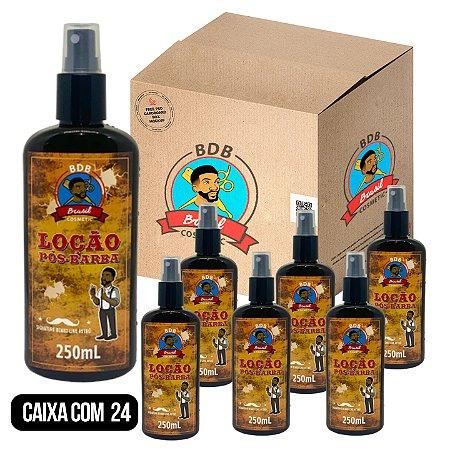 CAIXA COM 24 - Loção Pós Barba Batalha dos Barbeiros - 250ml