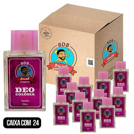 CAIXA COM 24 - DEO COLÔNIA FEMININA BDB