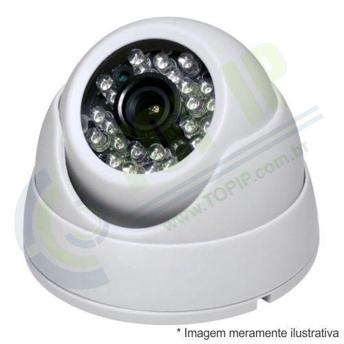 Câmera Infra Dome ANKO 4 em 1 (AHD, HDCVI, HDTVI e ANALÓGICA) LENTE 2,8MM