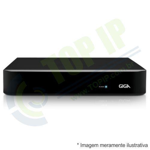 DVR Stand Alone 4 Canais Giga OPEN 5 em 1 (AHD, HDCVI, HDTVI e ANALÓGICO) GS04OPENHD