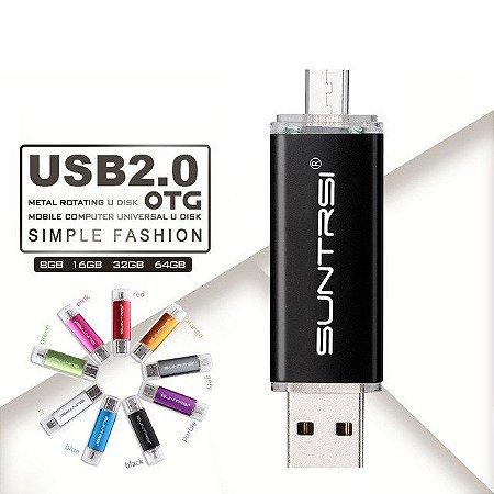 Pen Drive 32gb - USB e Mini USB