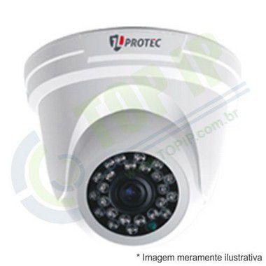 Câmera Infra Dome Metal 4 em 1 JL PROTEC 2,8MM 2006 (AHD, HDCVI, HDTVI E ANALÓGICA)