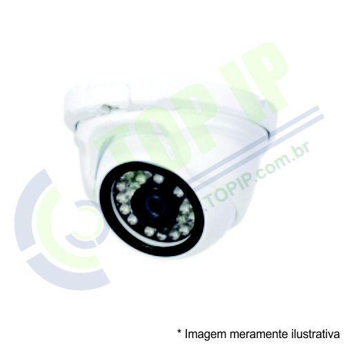 Câmera Infra Dome Metal ANKO 4 em 1 (AHD, HDCVI, HDTVI e ANALÓGICA) LENTE 3,6MM