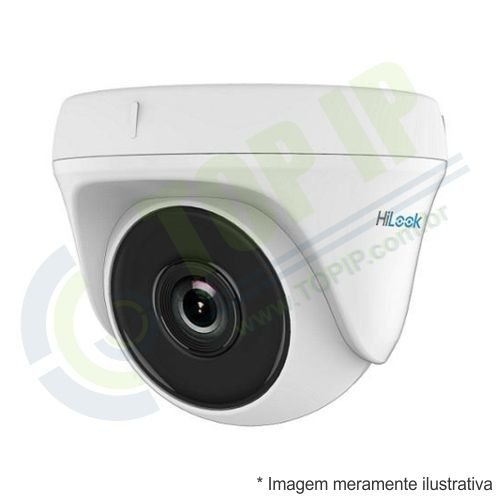 Câmera Infra Dome 4 em 1 720p 2.8mm HILOOK 20 metros