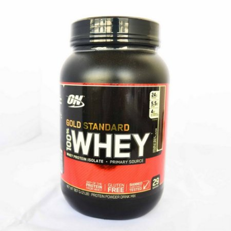c54c9b812 100% Whey Protein Gold Standard (907g) - Optimum Nutrition - Loja de ...