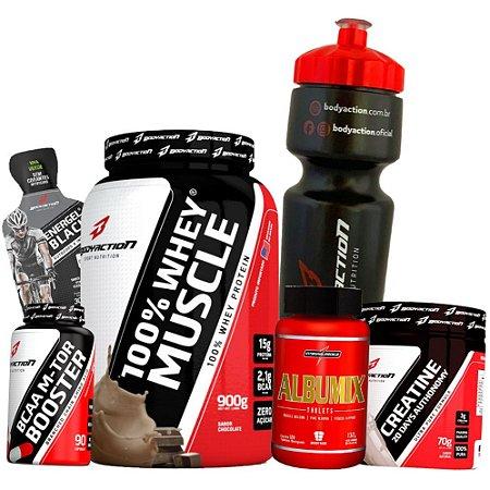 32a35a965 Kit Ganho de Massa Muscular - Body Action - Loja de Suplementos - Bogos