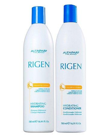 Kit Alfaparf Rigen Tamarind - Shampoo + Condicionador 500ml