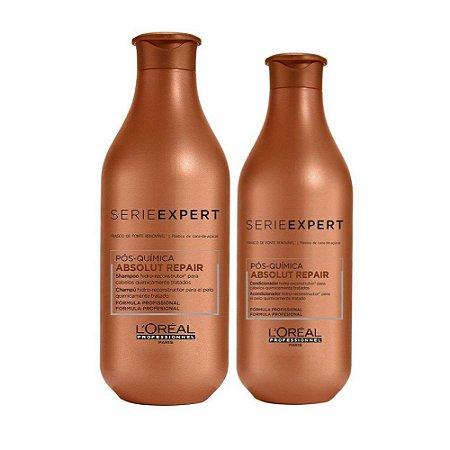 Kit L'Oréal Pós-Química - Shampoo e Condicionador