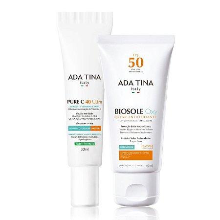 Kit Ada Tina - Pure C 40 + Biosole Oxy