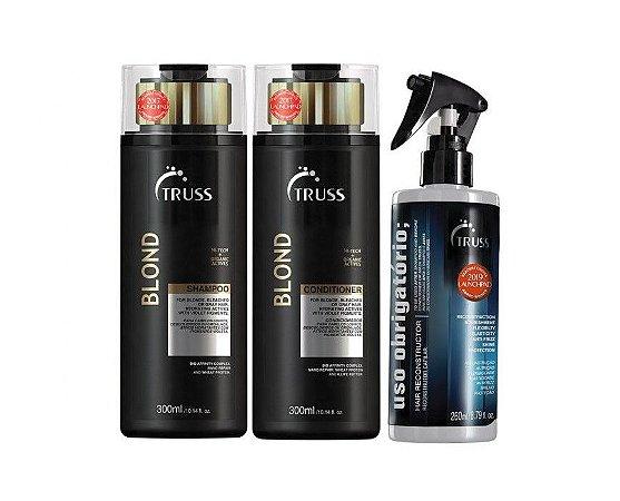 Kit Truss Blond - Shampoo + Condicionador + Uso Obrigatório
