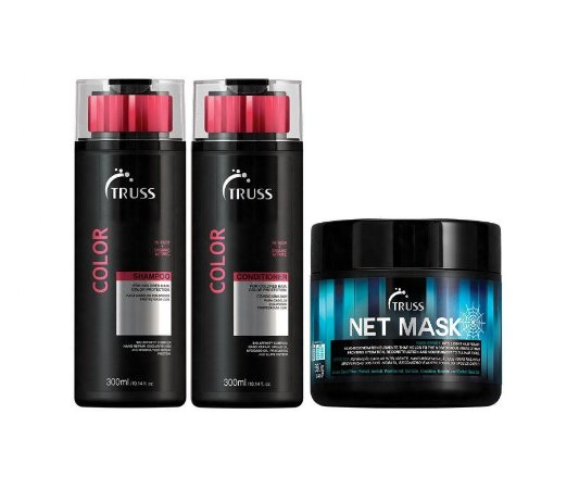 Kit Truss Color - Shampoo + Condicionador + Net Mask
