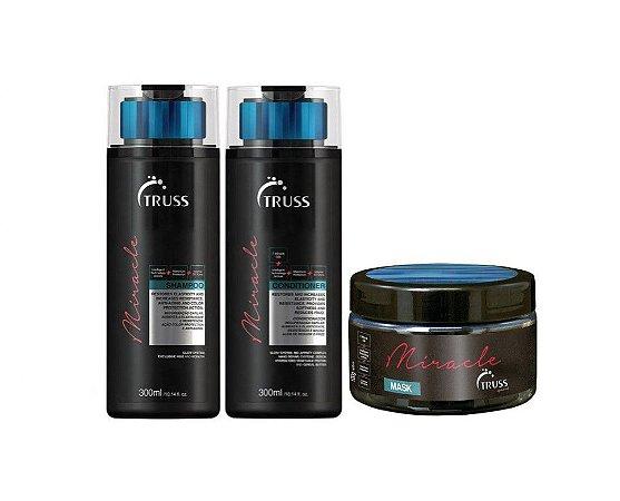 Kit Truss Miracle - Shampoo + Condicionador + Máscara