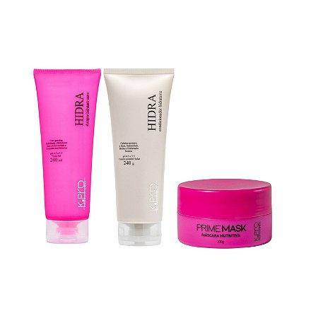 Kit K.Pro Hidra - Shampoo + Condicionador + Máscara