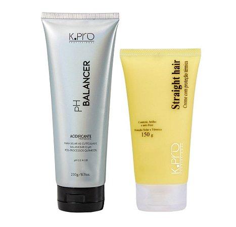 Kit K.Pro - pH Balancer + Straight Hair