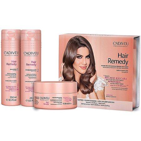 Cadiveu Hair Remedy Reparador Kit (3 Produtos)